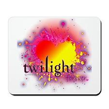 Love Twilight Forever Mousepad