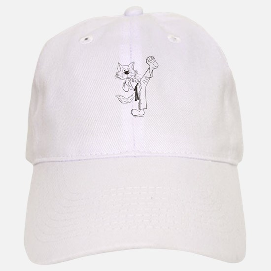 Karate Cat Baseball Baseball Cap