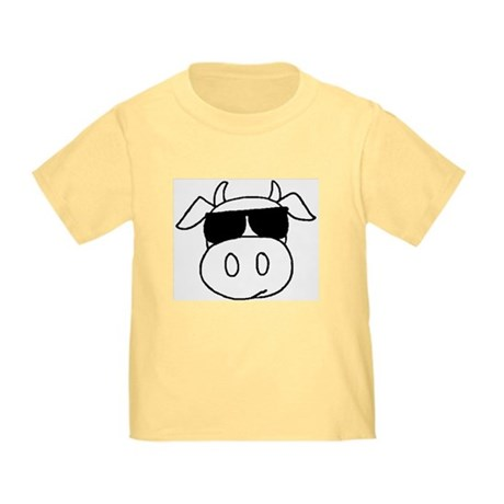 Cow Head Toddler T-Shirt