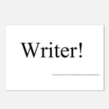 WRITER! Postcards (Package of 8)