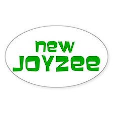 NEW JOYZEE Oval Decal