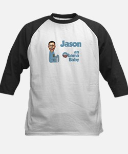 Jason - Obama Baby Kids Baseball Jersey