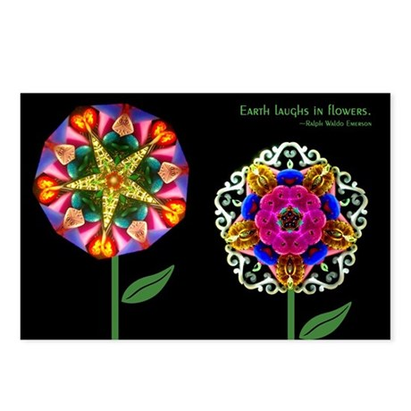 Kaleidoscope Emerson Postcards (Package of 8)
