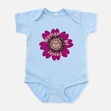 Woman Of Power Flower Infant Bodysuit