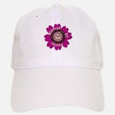 Woman Of Power Flower Baseball Baseball Cap