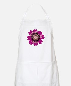 Woman Of Power Flower BBQ Apron