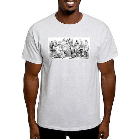 Calaveras en Bicicleta Light T-Shirt