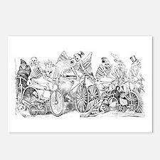 Calaveras en Bicicleta Postcards (Package of 8)