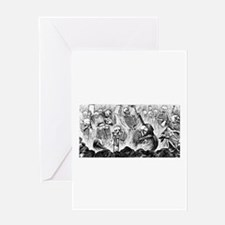 Purgatorio Artistico Greeting Card