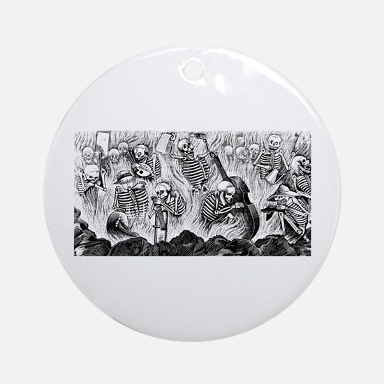 Purgatorio Artistico Ornament (Round)