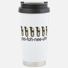 Cute Marching band rock and roll instrument brass Travel Mug