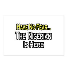 """No Fear, Nigerian is Here"" Postcards (Package of"
