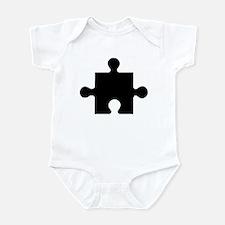 Cute Puzzle piece Infant Bodysuit