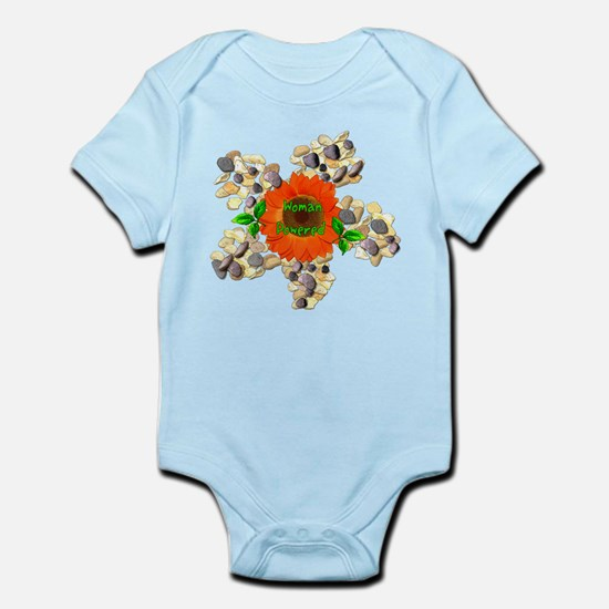 Woman Powered Infant Bodysuit
