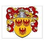 Van Bommel Coat of Arms Small Poster