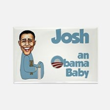Josh - Obama Baby Rectangle Magnet
