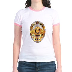 Lacey Police Jr. Ringer T-Shirt