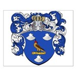 Van Borre Coat of Arms Small Poster