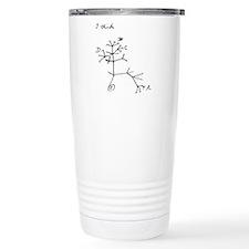 "Darwin Notebook - ""I think"" Travel Mug"
