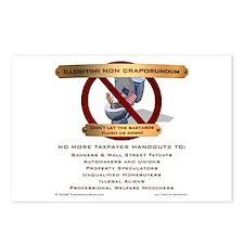 Illegitimi non craporundum Postcards (Package of 8