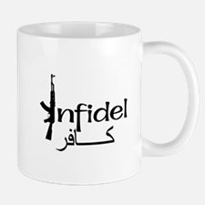 Infidel Ak47 (Arabic Text) Mug