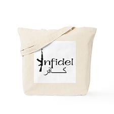 Infidel Ak47 (Arabic Text) Tote Bag