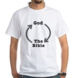 Atheist Mens White T-shirts