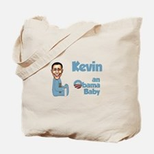 Kevin - Obama Baby Tote Bag