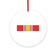 National Defense Ornament (Round)