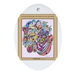 Art4Autism Oval Ornament