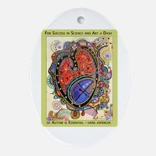 AutismHeart Oval Ornament
