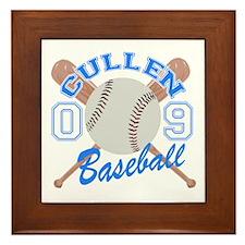 Cullen Baseball 09 Framed Tile