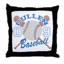 Cullen Baseball 09 Throw Pillow