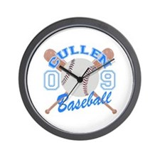 Cullen Baseball 09 Wall Clock