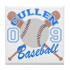 Cullen Baseball 09 Tile Coaster