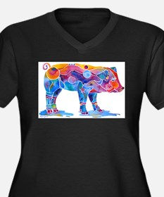 Pigs of Many Colors Plus Size T-Shirt
