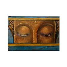 Buddha Eyes Rectangle Magnet