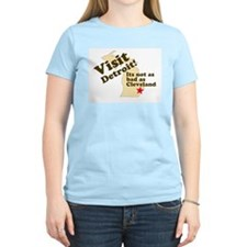 Visit Detroit, Its Not as Bad T-Shirt