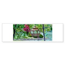 Willowdale Gazebo Bumper Bumper Sticker
