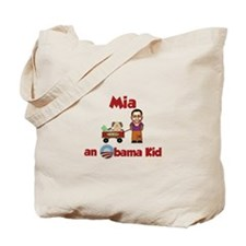 Mia - an Obama Kid Tote Bag