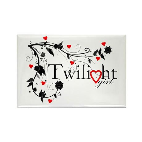 Twilight Girl Rectangle Magnet (10 pack)