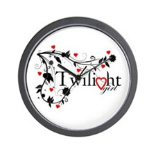 Twilight Girl Wall Clock