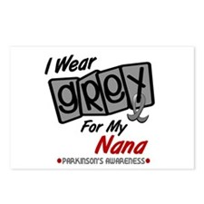 I Wear Grey For My Nana 8 PD Postcards (Package of