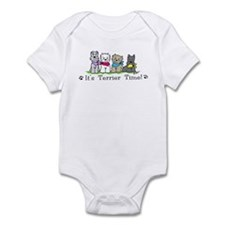 Its terrier time 4 dog color dogs crop Body Suit