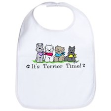 Cute Scottie Bib