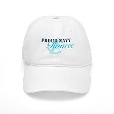 Proud Navy Fiancee Baseball Cap