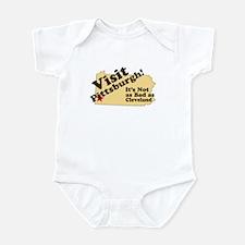 Visit Pittsburgh, It's Not as Infant Bodysuit