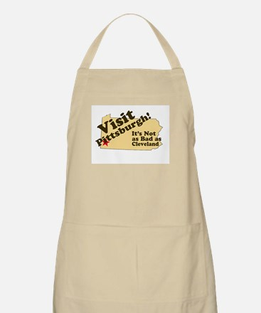 Visit Pittsburgh, It's Not as BBQ Apron