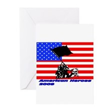 Support our American Troops Greeting Cards (Pk of