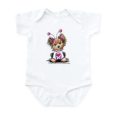 Love Bug Yorkie Infant Bodysuit